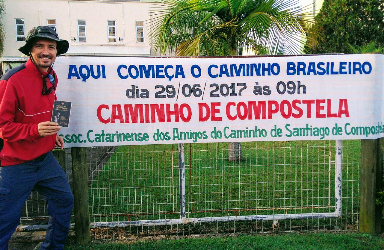 caminho brasileiro santiago compostela carlo manfroi