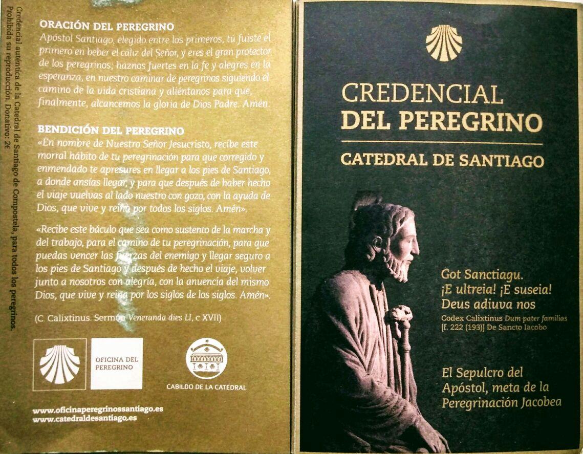 caminho brasileiro credencial do peregrino