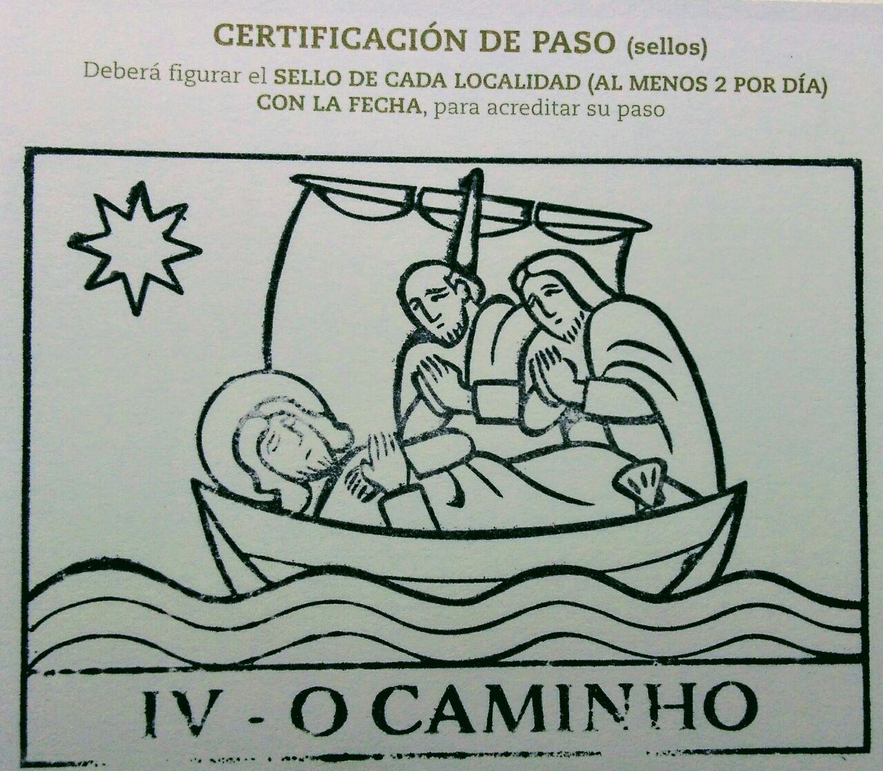 caminho brasileiro florianópolis sello O CAMINHO