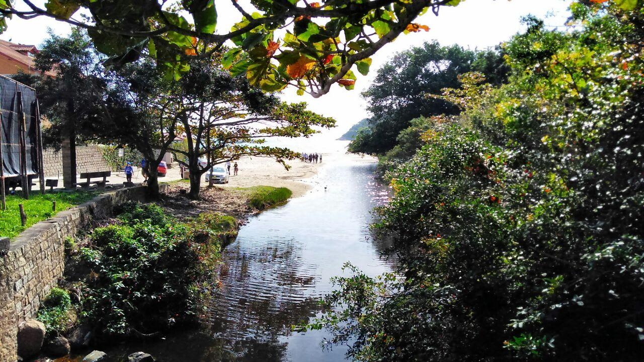 caminho brasileiro praia lagoinha carlo manfroi corrida